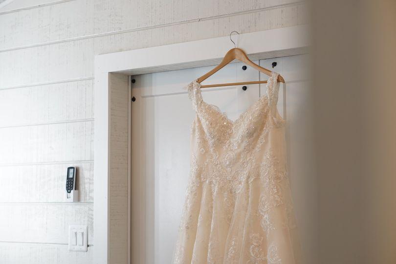 One dress ~ whole room