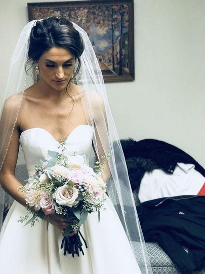 lauren bridal shot