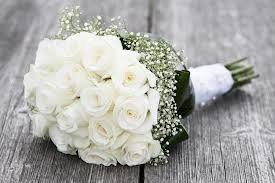BridalBouquetwhiteroses