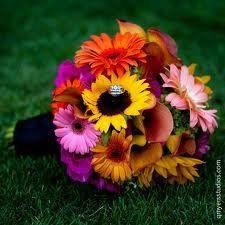 BridalBouquetsunflower