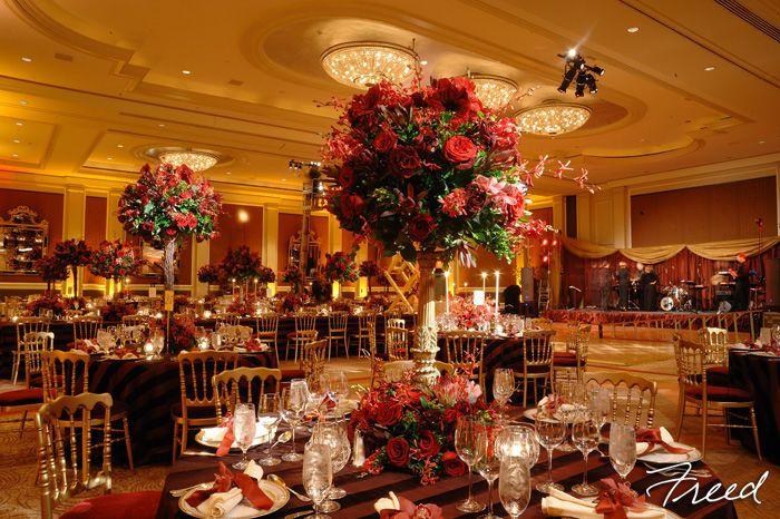 Romantic table setup