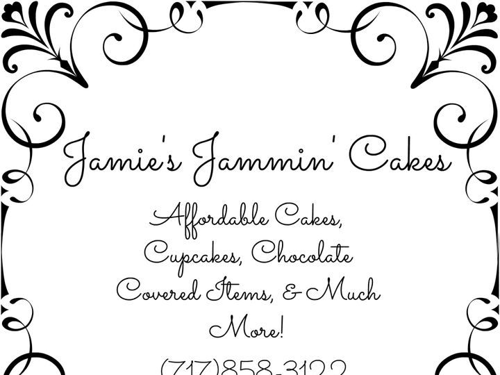 Tmx 1428373091407 Jamiesjammincakes Logo York wedding cake
