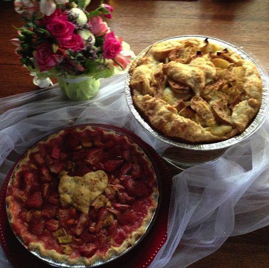 Blissful  (bottom) Strawberry & Rhubarb and rose wine. Sweetness #3.  Sedona Spirit (top) Apples &...