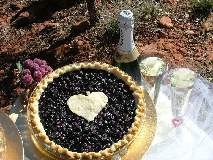 Sacrebleu - Blueberry & Cabernet wine. Sweetness #2