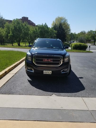 GMC front view
