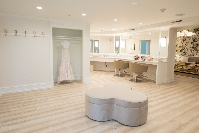 New bridal suite