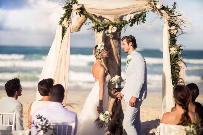 Hard Rock Hotels beach wedding