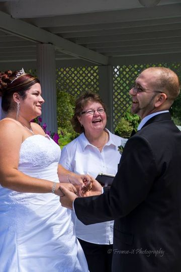 Joann McGregor Wedding Officia