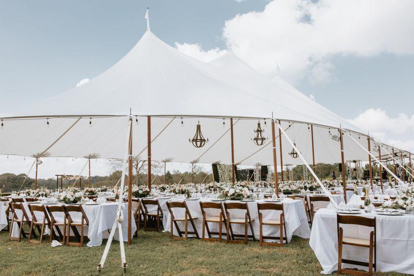 An elegant outdoor wedding (EC Photography)