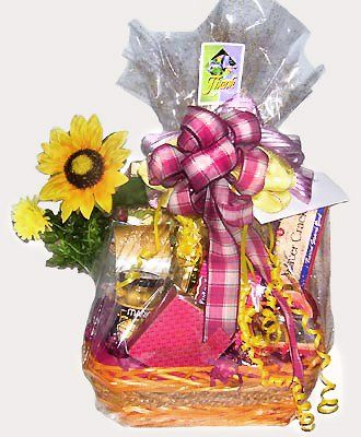 Tmx 1360029977804 Sunflowerwrappeddesignwplaidbow Atlantic City wedding favor