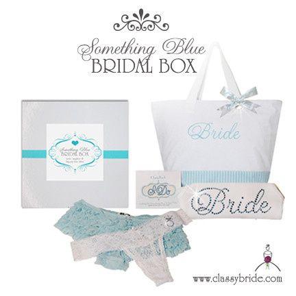 something blue bridal box shower gift facebook
