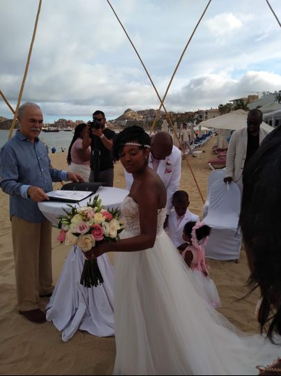 Arrival at the Alter