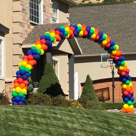 Stacked Rainbow Arch
