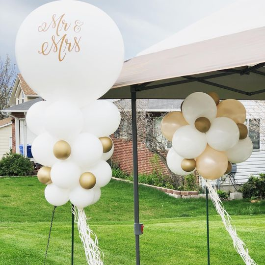 Bridal Shower Topiary
