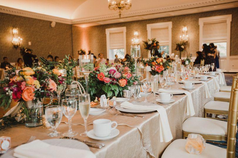 Alexandria Ballroom Head Table