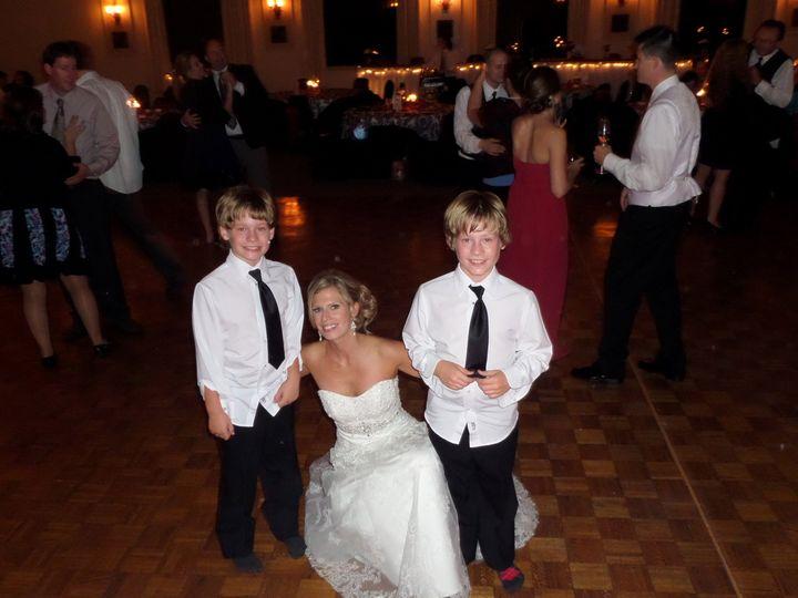 Kids & the bride