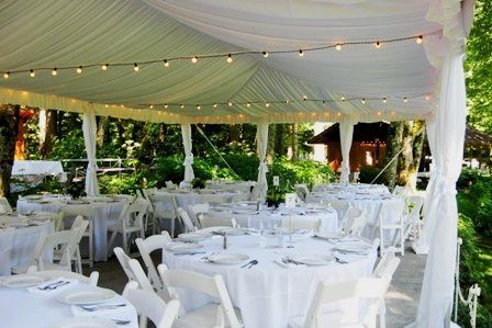 Canopy Liner at Bridal Veil Lakes offered at a discount by Voila Catering