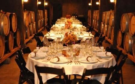 Formal Plated Dinner at Oregon Winery with Wine Pairings