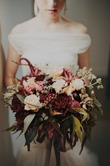 October Bride- Vineyard Wedding