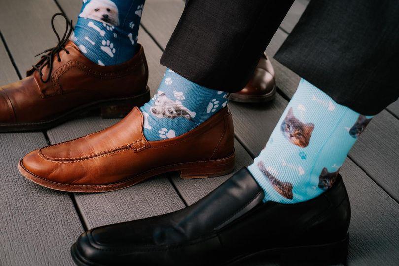 Animal print socks!