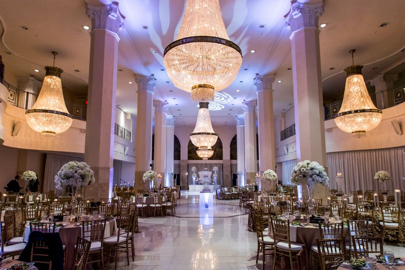 Egyptian Wedding Reception