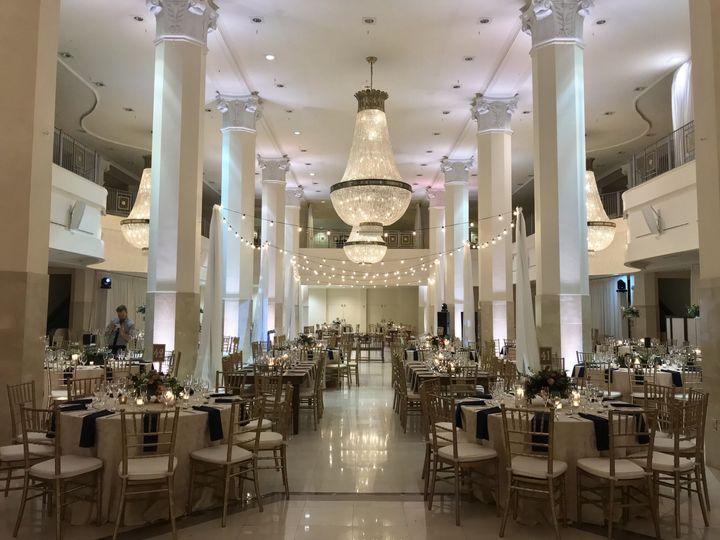Fusion wedding reception