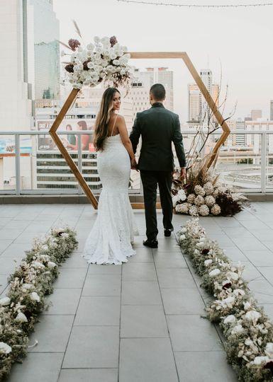 Ceremony Aisle + Arch