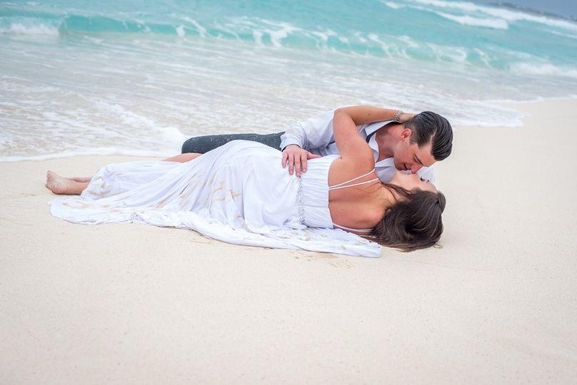 tylor wedding beach cancun 122