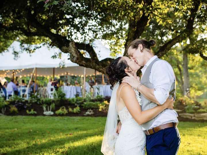 Tmx Wedding Kiss 51 1384693 159853424264831 North Bennington, VT wedding venue