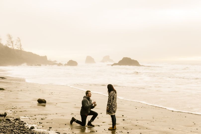 Proposal in Cannon Beach, OR