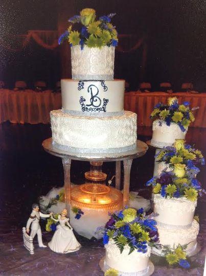 brittany wedding cake