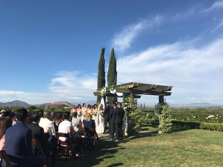 Ponte Winery wedding.