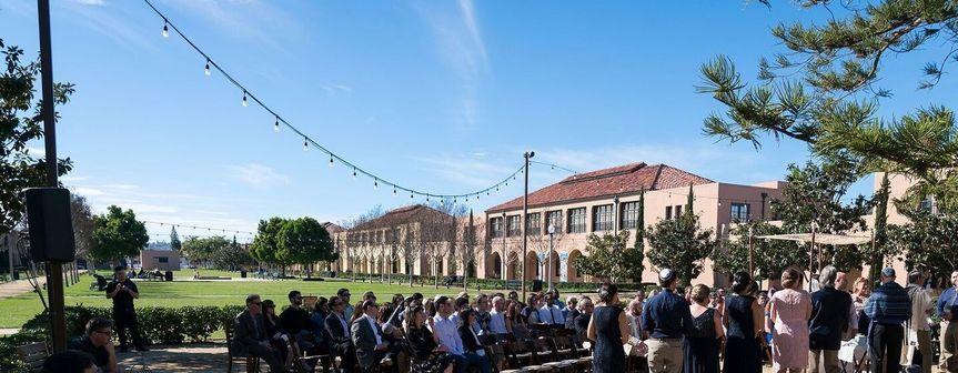 Stone Liberty Station wedding