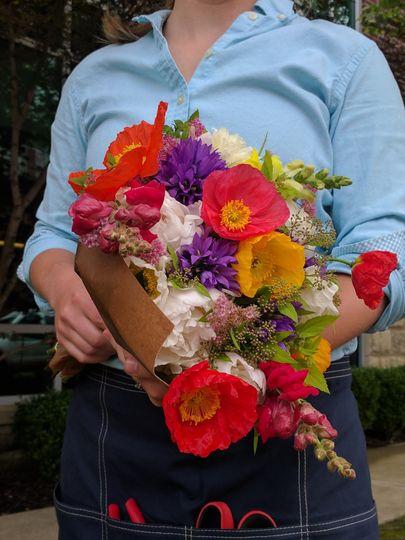 Spring market bouquet