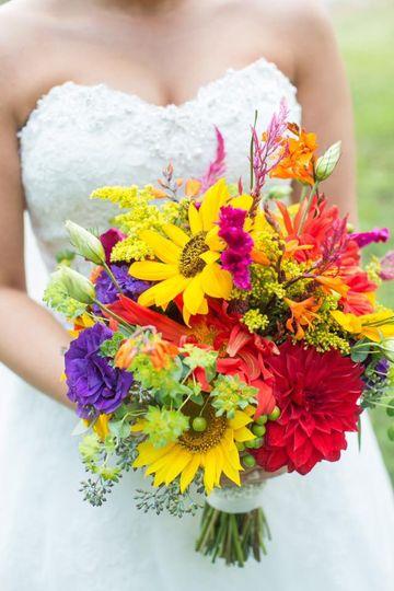 Amazing flower arrangement