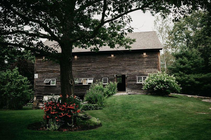 Barn and Gardens