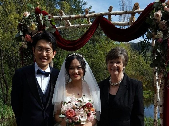 Tmx 1519512449 00ca103612664f3c 1519512448 F77df8e39365b9f3 1519512445401 9 Jin Bo Kathy San Francisco, California wedding officiant