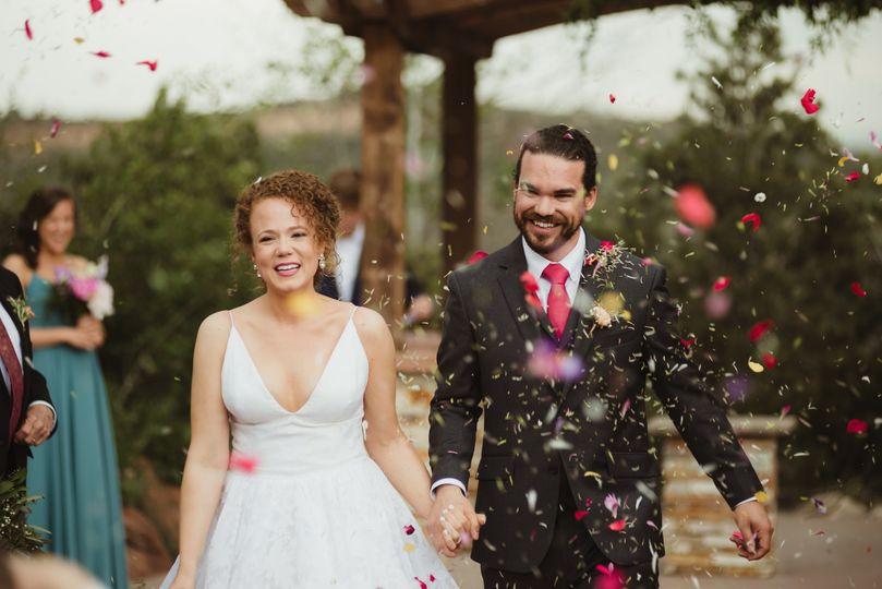 Yeah! We're married!