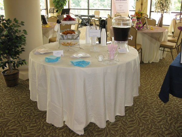 Tea Reception at Bridal Show 8/02/09