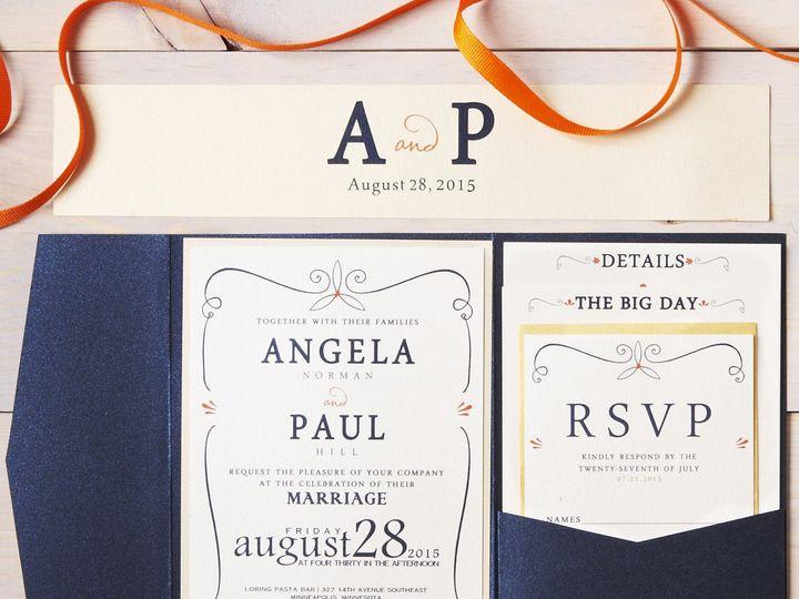Tmx Angie 8 51 1053793 Minneapolis, MN wedding invitation