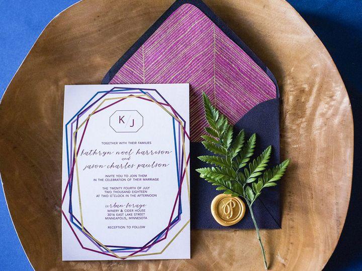 Tmx Kathryn 18 51 1053793 Minneapolis, MN wedding invitation