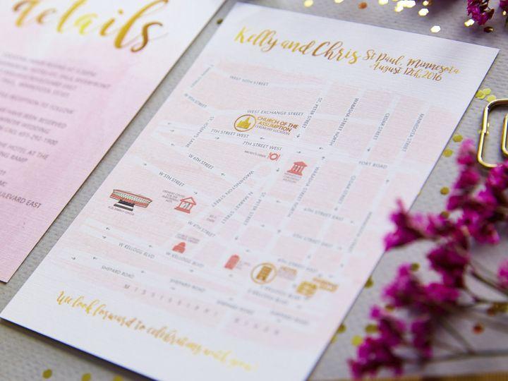 Tmx Kelly 19 2 51 1053793 Minneapolis, MN wedding invitation