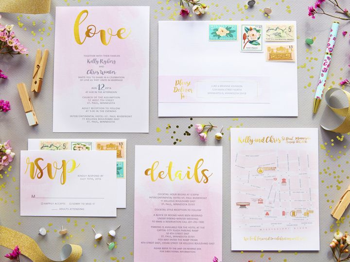 Tmx Kelly 1 51 1053793 Minneapolis, MN wedding invitation