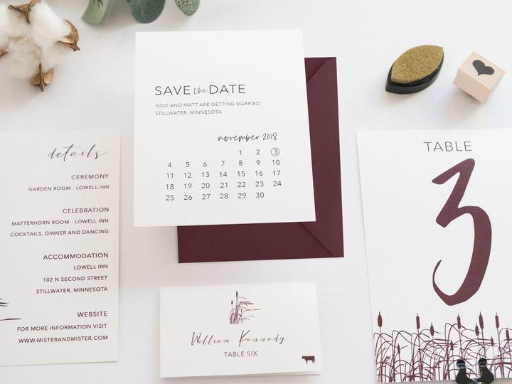 Tmx Nicholas 20 51 1053793 Minneapolis, MN wedding invitation