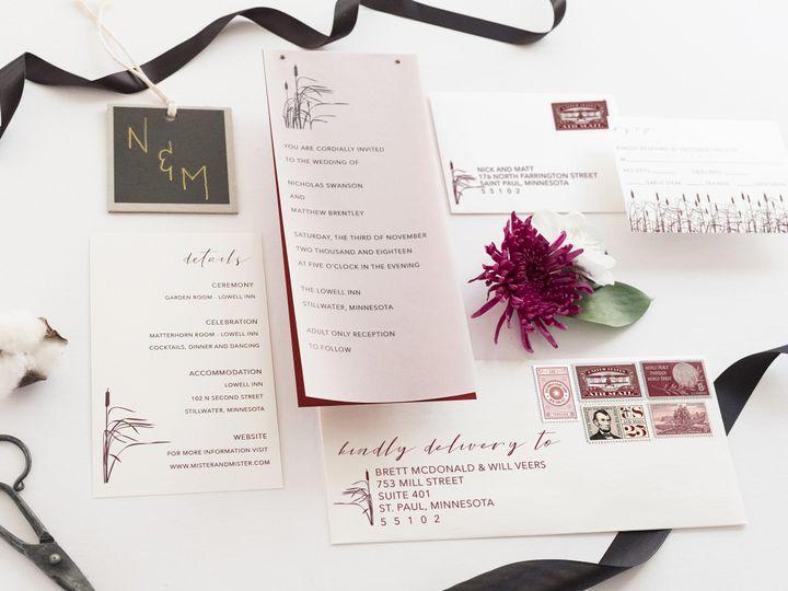 Tmx Nicholas 39 51 1053793 Minneapolis, MN wedding invitation