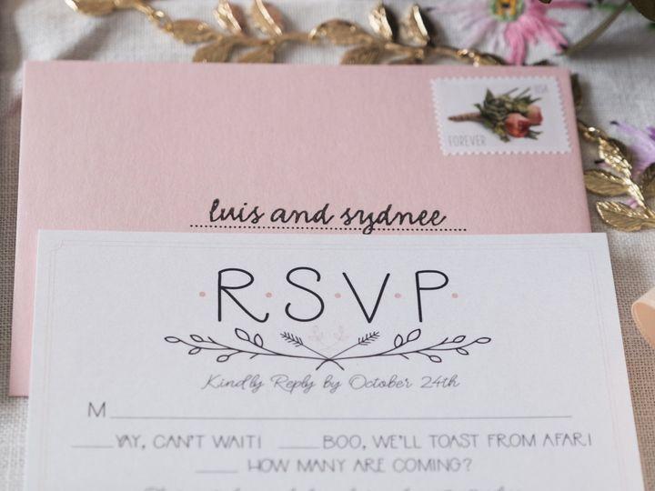 Tmx Sydnee 12 51 1053793 Minneapolis, MN wedding invitation