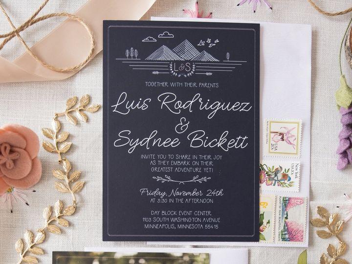 Tmx Sydnee 29 51 1053793 Minneapolis, MN wedding invitation
