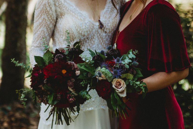 Bride + Maid of Honor