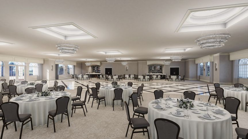 Rendering of Grand Ballroom
