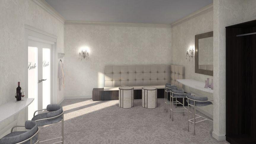 Rendering of Bridal Suite